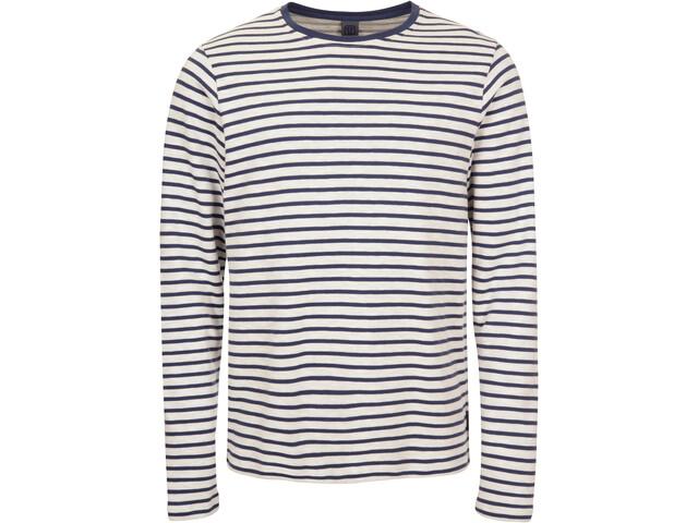 Elkline Freejazz Sweat-shirt de survêtement Homme, white/darkblue
